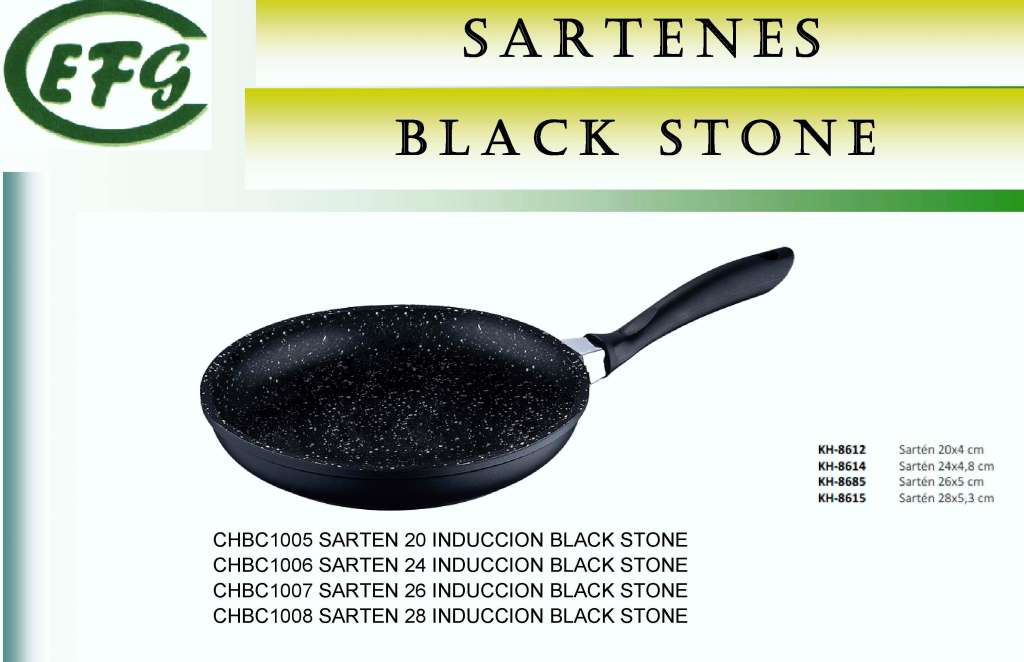BLACK STONE(PIEDRA NG)SARTEN 20 INDUC