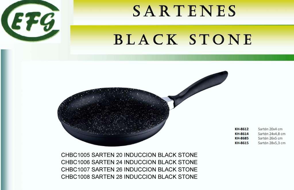 BLACK STONE(PIEDRA NG)SARTEN 24 INDUC