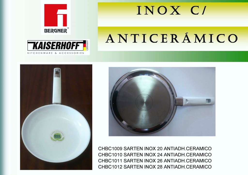 ANTIADH. CERAMICO SARTEN INOX 28