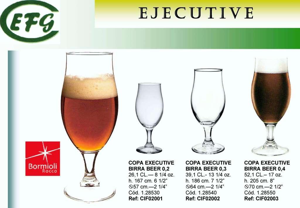 EJECUTIVE BIRRA 0'2 - 26 CL COPA