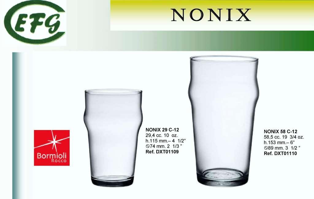 NONIX 58 VASO C-12 DX.