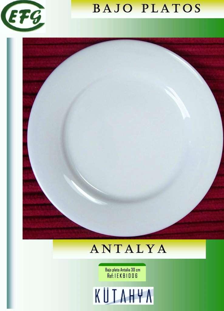 ANTALYA BAJO PLATO 30