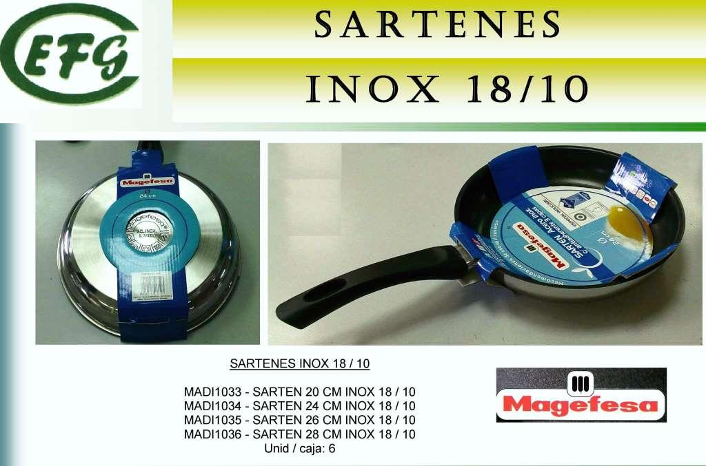 SARTEN INOX 20 MAGEFESA