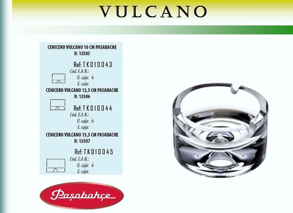 CENICERO VULCANO 10 R/13505 PASAB.