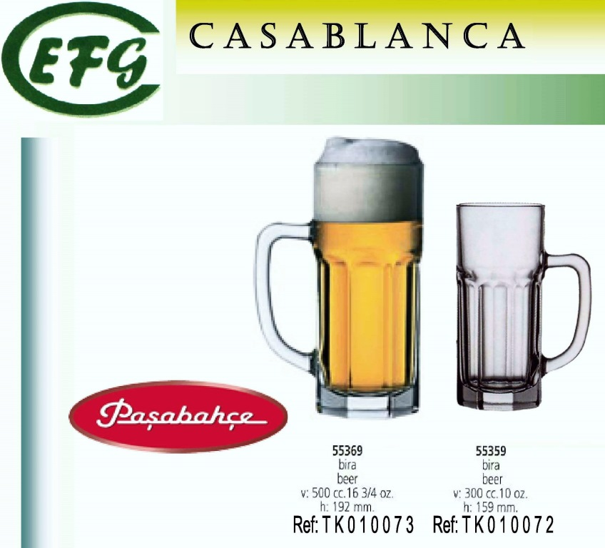 CASABLANCA JARRA CERVEZA 300 R/55359