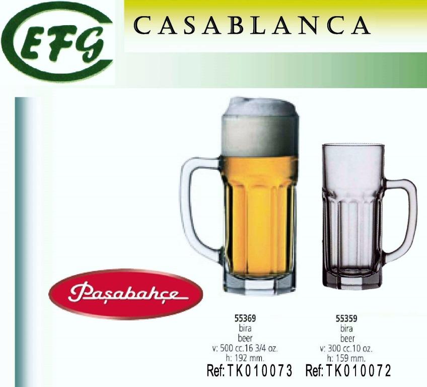 CASABLANCA JARRA CERVEZA 500 R/55369