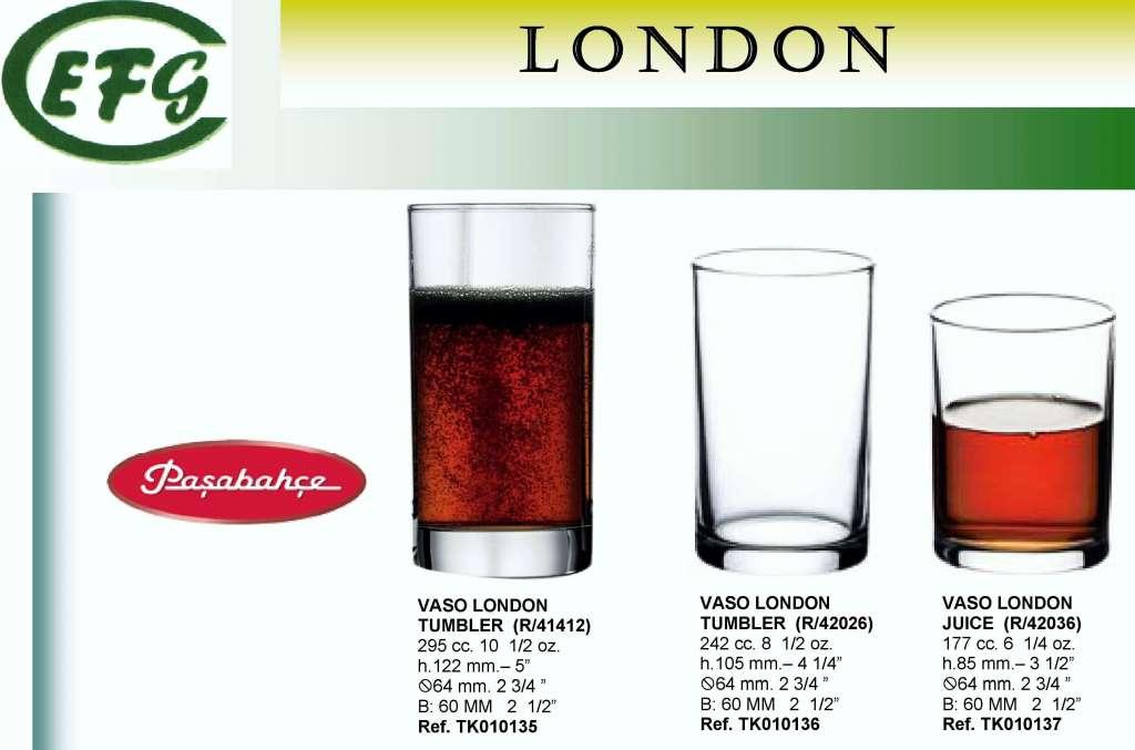 LONDON 29'5 CL R/41412 VASO