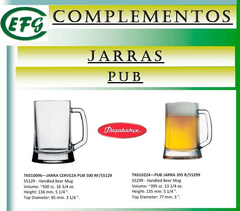 PUB JARRA CERVEZA 395 R/55299