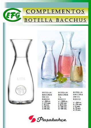 Botellas Bacchus