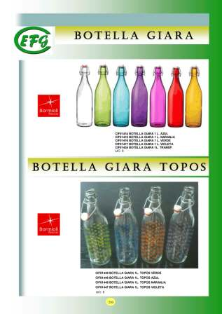 Botellas Giara Topos