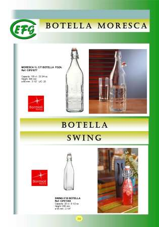 Botellas Swing