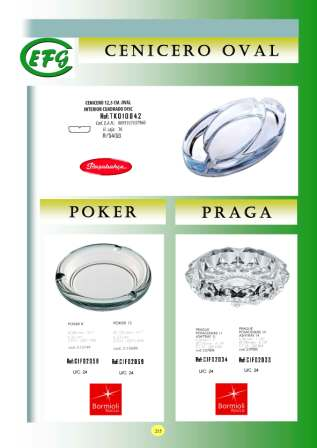 Cenicero Poker