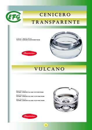 Cenicero Transparente