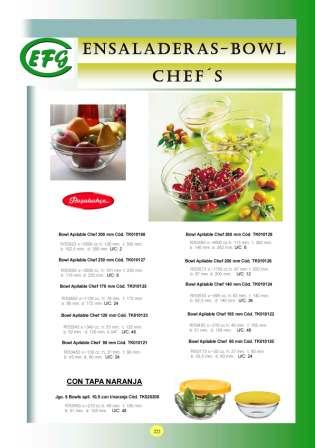 Ensaladeras-Bowl Chefs