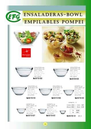 Ensaladeras-Bowl Empilables Pompei