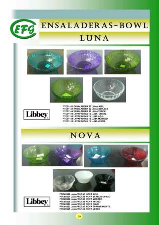 Ensaladeras-Bowl Luna