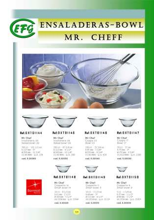 Ensaladeras-Bowl Mr Cheff