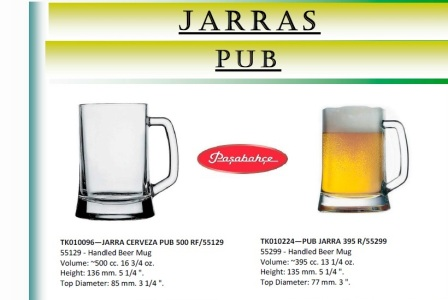 Jarras Pub 500 y 395