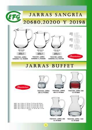 Jarras Buffet