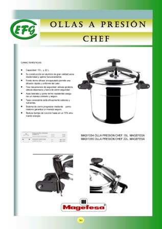 Olla a Presión Chef