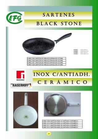 Sartenes Black Stone