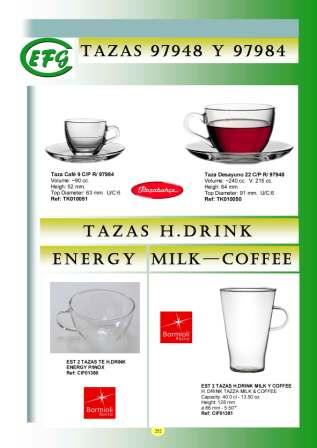Tazas HDrink Energy